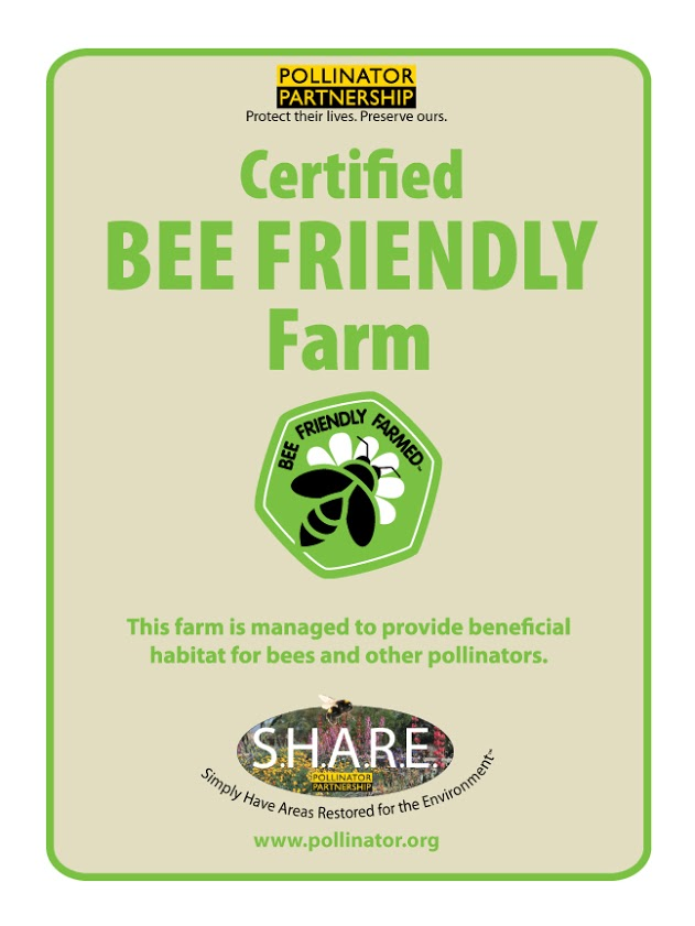 Certified Bee Friendly Farm