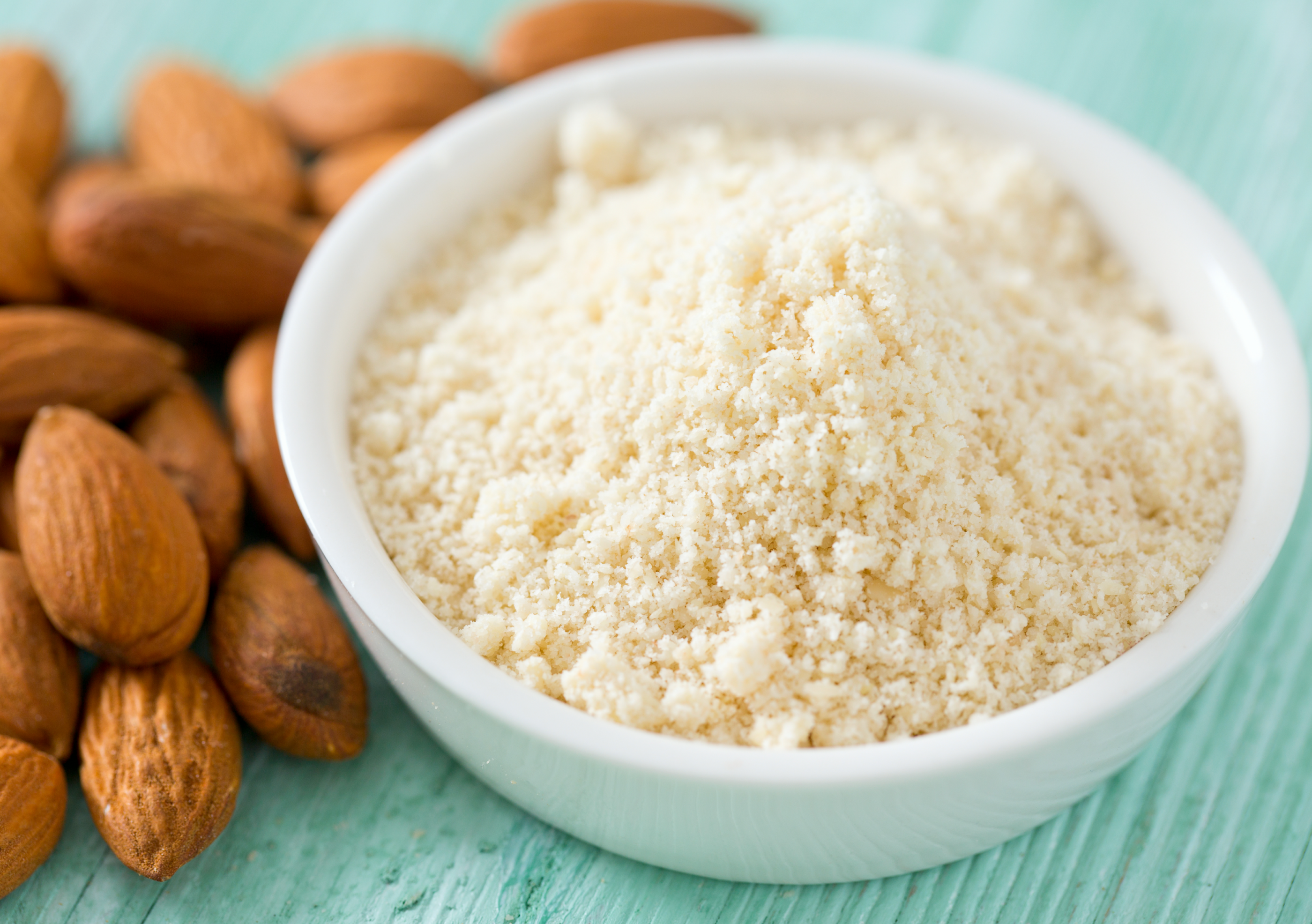 What is almond flour made of